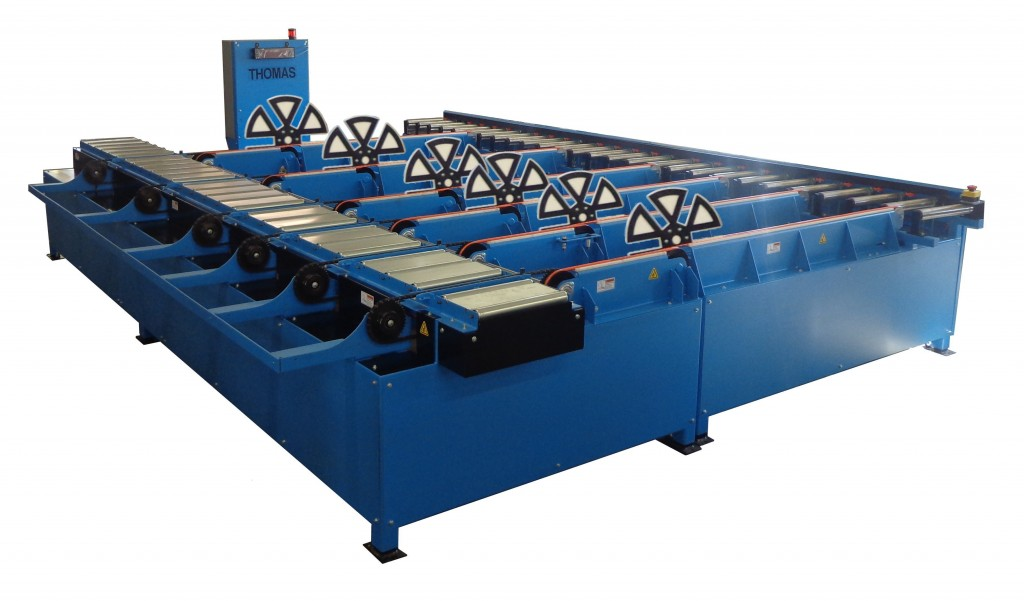 Transfer Conveyor with Board Flipper