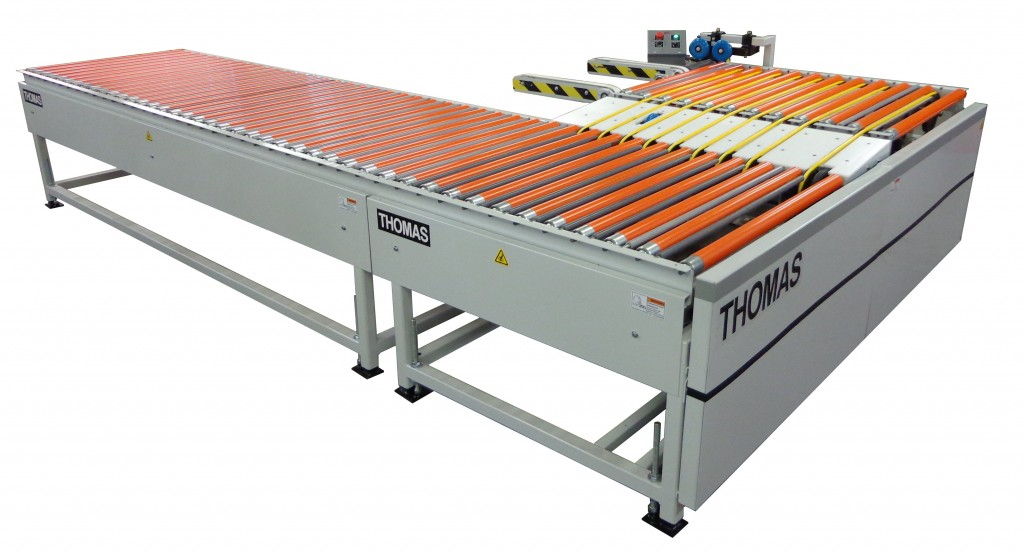 Turnbak Edgebander Return Conveyor