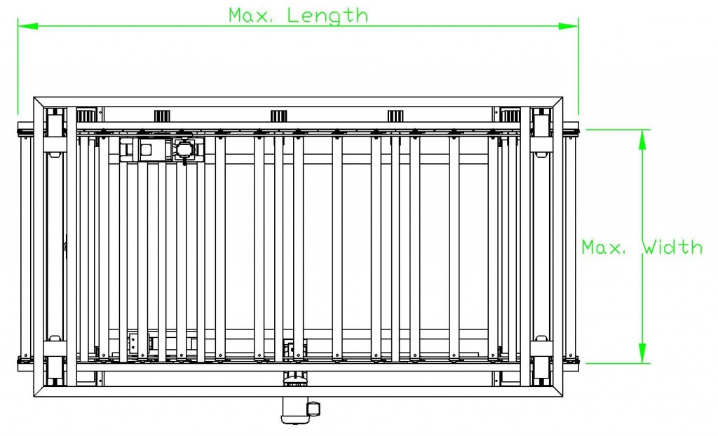 Inline Panel Inverter RFQ Layout
