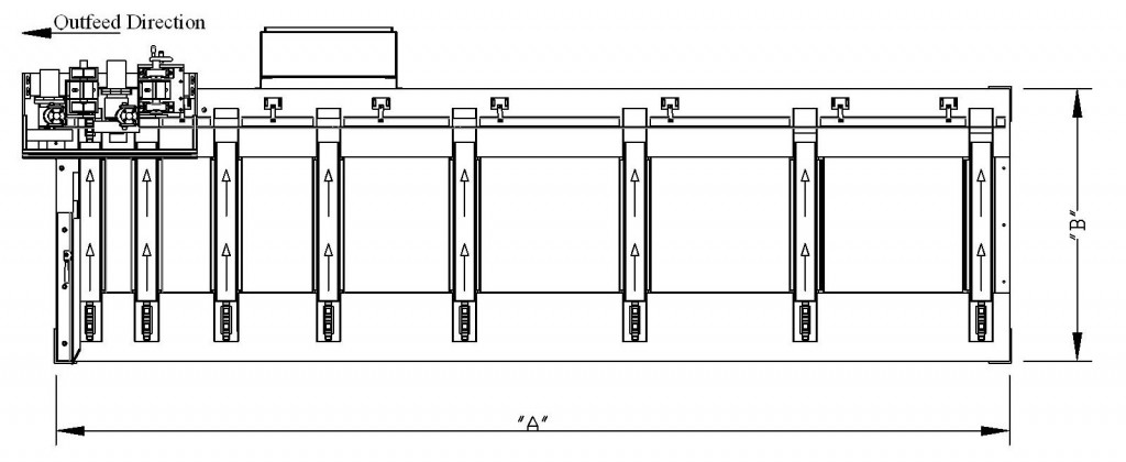 Lateral Feeder RFQ Layout