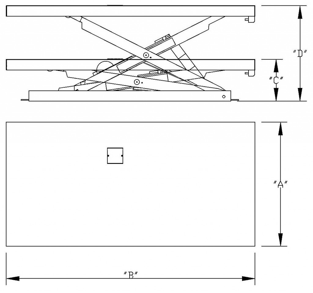 Scissor Lift RFQ Layout