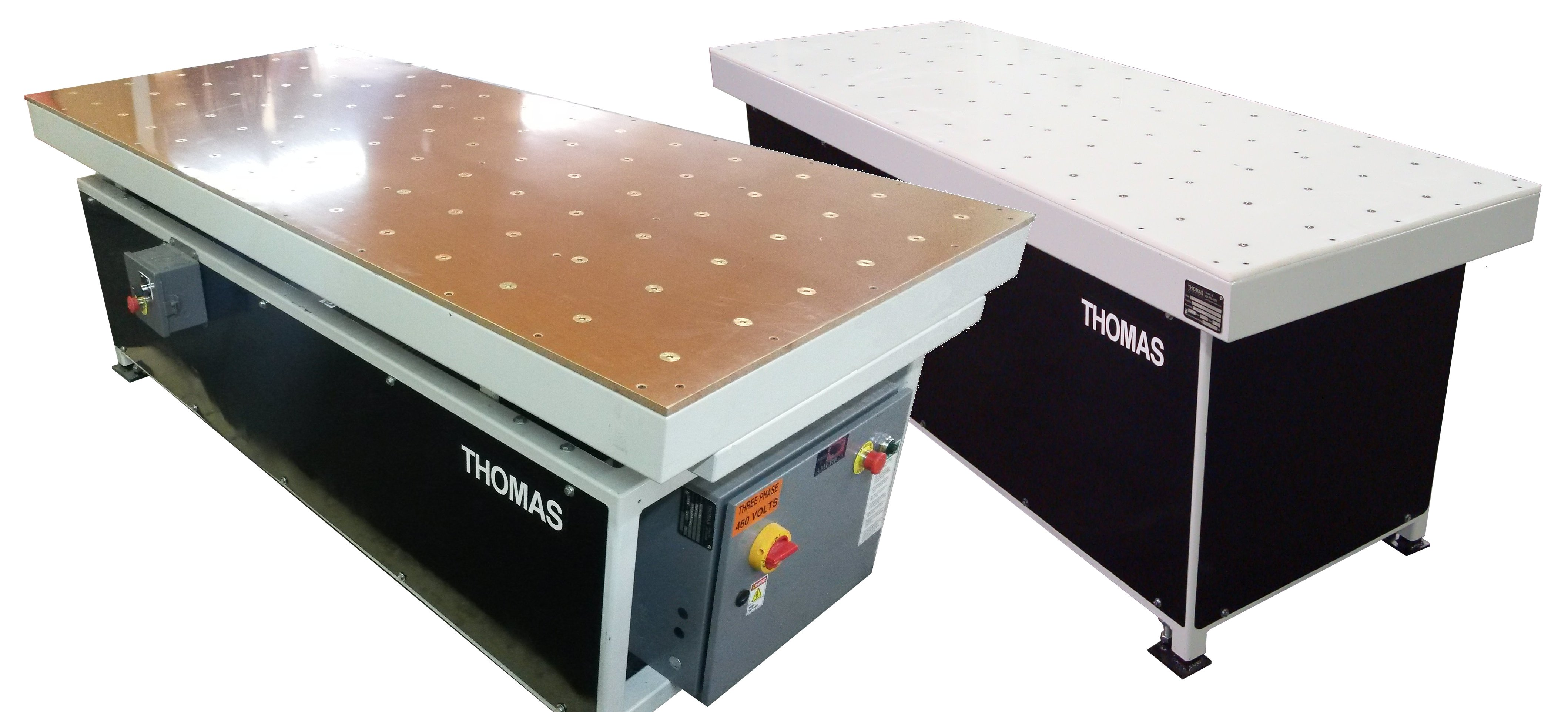 Plastic and Phenolic Air Tables